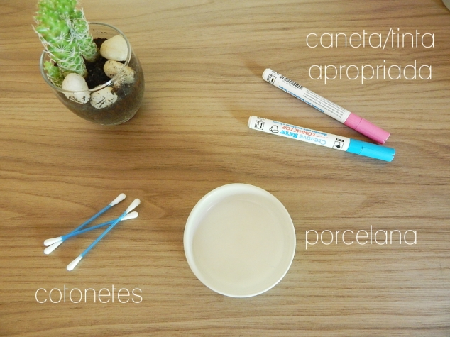 DIY Porcelana Decorada | Blog Notas de Lira